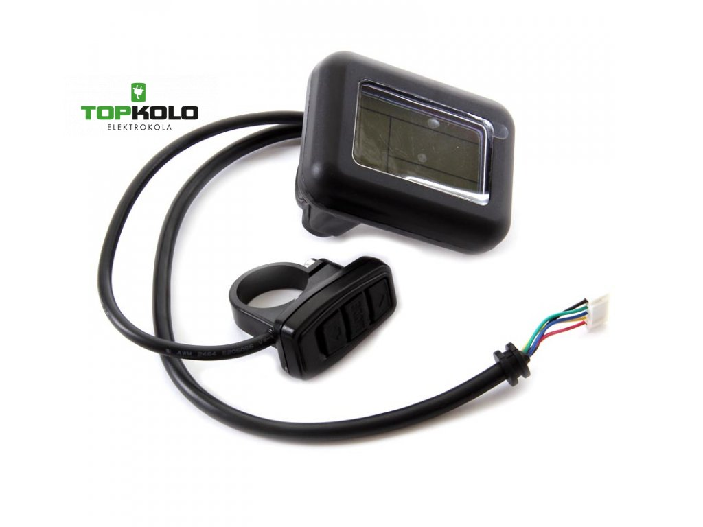 Displej LCD Apache Power 2013 a starší s konektorem do slučovacího boxu
