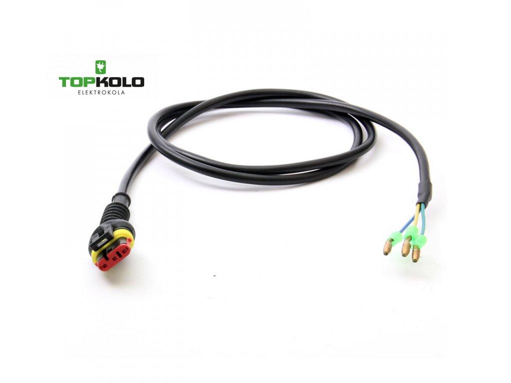 Kabel motoru s oválným konetorem 3pin/370 mm