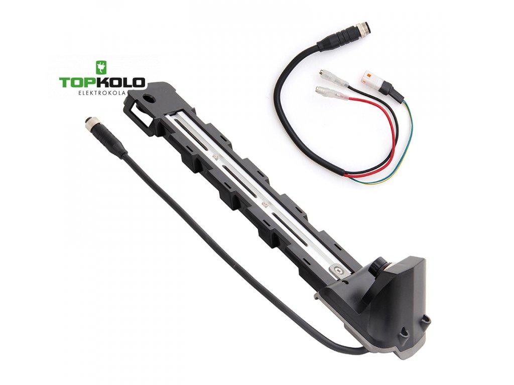 Držák baterie R6 + kabel pro motor Bafang MaxDrive