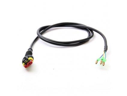 Kabel motoru s oválným konetorem 3pin/2050 mm
